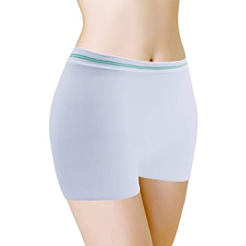 5b51e552c888 Postpartum Underwear High Waist Mesh C-Section Recovery Panties Pack of 10  Maternity Pants Hospital