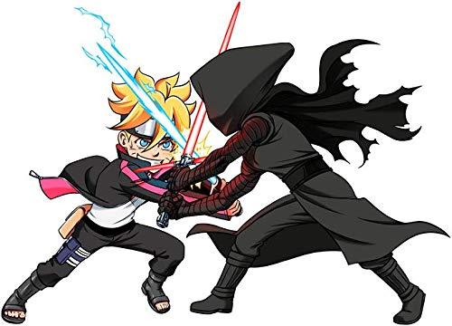 Vs High De Tech L'espace parodie Capuche Parodique Nero Star À Kylo Wars Sweats Wars Samurai Ninja Ren Boruto 1OwvPnnqxY