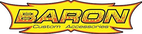 Baron Custom Accessories Bullet Tachometer - 1 1/2in. - White Face BA-7572U