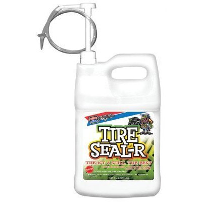 Berryman 1301 Seal-R Tire Sealing Compound, 1-Gallon Bottle with Pump