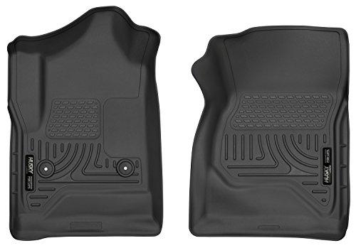 Husky Liners Front Floor Liners Fits 14-18 Silverado/Sierra Standard Cab