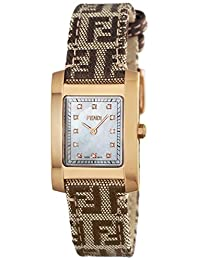 FENDI watch Classico white pearl dial diamond F704242DF