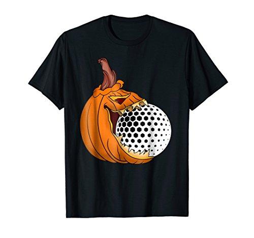 Pumpkin Carving Eat Golf Ball Costume Shirt Golfers Golfing