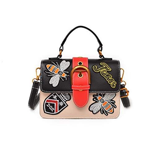 ZHRUI Borsa a tracolla della borsa delle donne di stile selvaggio di  tendenza della borsa di 575e39c1fbd