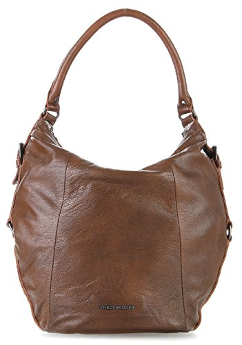 FredsBruder World Wide Traveler Bolso de hobo chocolade