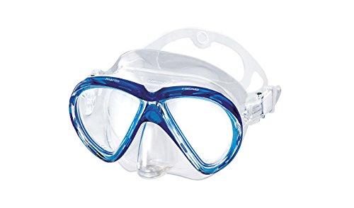 HEAD Mares Marlin Scuba Diving Snorkeling Mask w/ Purge (Clear Blue) (Dive Scuba Diving Mask W)