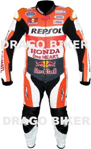 Amazon.es: Honda Moto Piel Traje moto Dainese Alpinestars CUSTOM ...