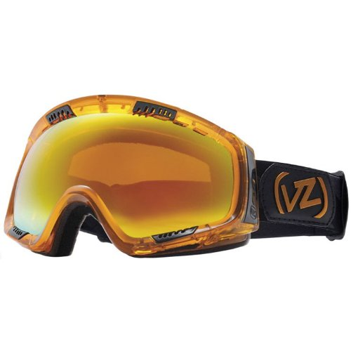 Von Zipper Feenom Snow Goggles One Size Tangerine ~ Fire Chrome