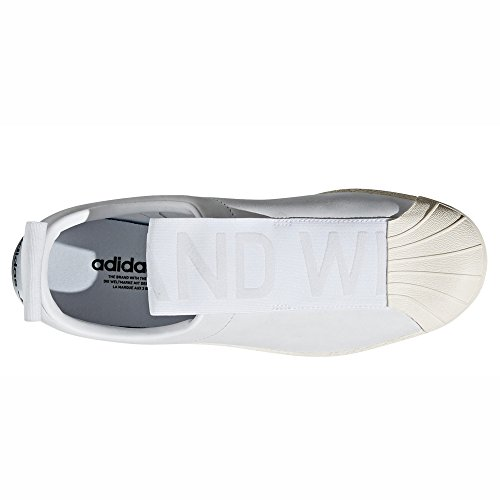 Pour Adidas Et Basses Nobuk White White baskets Noir Femmes Originals Blanc Leather off Bw Superstar Cq2518 on Sneakers Crystal Cq2517 Slip Les BnwBOrSq