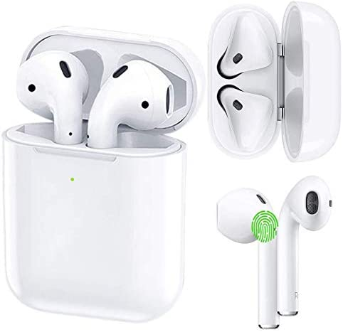 Wireless Earbuds Bluetooth 5.0 Headphones Fast Charging Active Noise Cancelling in Ear Ear Buds Touch Control Stereo with Dual Mic Wireless Earbuds for iPhone Samsung Airpods por Apple Ear Buds