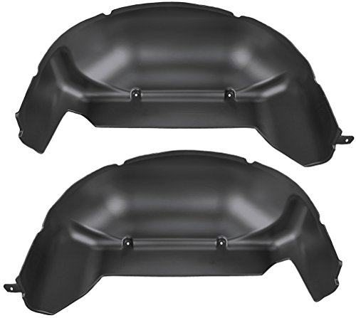 Husky Liners Rear Wheel Well Guards Fits 11-16 F250/F350 Fits Single Rear (Rear Wheel Guards)