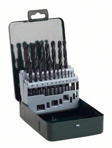 Bosch DIY 19tlg. Metallbohrer-Set HSS-R (rollgewalzt) 2607019435