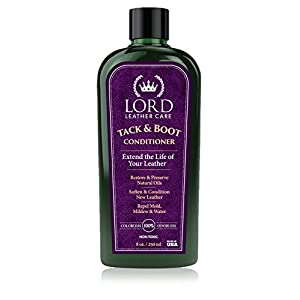 Lord Leather Conditioner for Tack & Boots / Leather Softener, Restorer & Protector for Saddles, Riding Boots, Tack - Best Leather Care Restoration for more than 50 years!