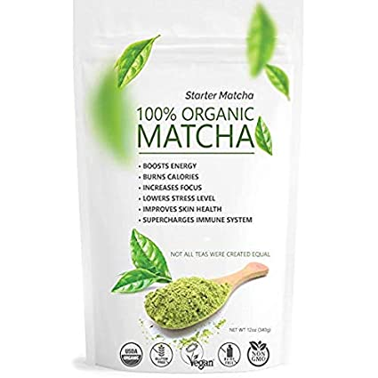Té Orgánico Japonés De Matcha En Polvo Aumenta Niveles De Energía Vitalidad Amazon Com Grocery Gourmet Food