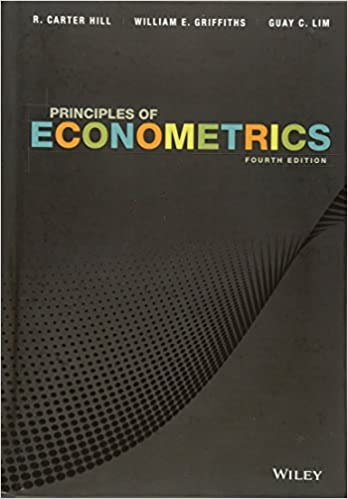 Principles of econometrics 9780470626733 economics books principles of econometrics 4th edition fandeluxe Choice Image