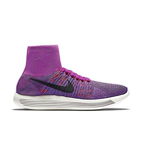 Nike Damen Wmns Lunarepic Flyknit Laufschuhe Fucsia (fchs Flsh / Blck-prsn Vlt-mdm Vl)