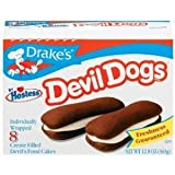 Drake's by Hostess 8 ct Devil Dogs Creme Filled Devil's Cakes 13.63 oz
