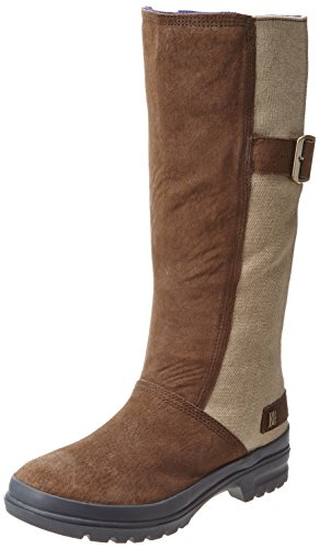 DC Shoes DC Shoes - Schuhe - FLEX BOOT LE - D0320083-TBLD - brown D0320083-TBLD - Botas fashion de cuero para mujer Marrón
