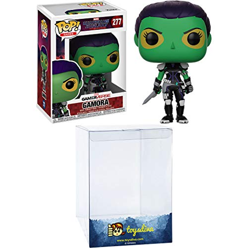 Gamora: Funk o Pop! Games Vinyl Figure Bundle with 1 Compatible 'ToysDiva' Graphic Protector (277 – 24520 – B)