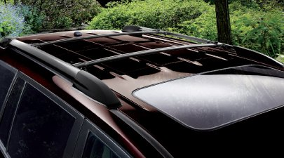 Cross Bars Roof Rack Set Highlander 08 09 10 11 12 Genuine Toyota New