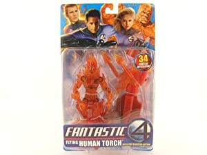 Fantastic Four Flying Human Torch Action Figure by Fantastic 4