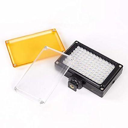 96 LED de luz de Video portátil Selfie luz de Relleno proyector ...