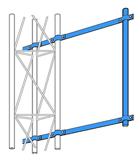 (ROHN SA253UA Universal Side Arm Mount for 25G 45G 55G 65G Tower)