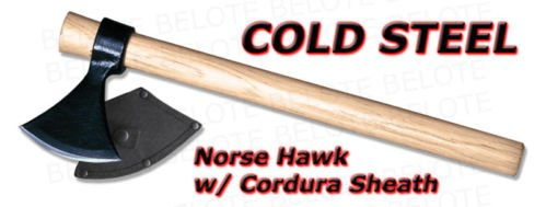 Cold Steel Norse Hawk and sheath by Cold Steel