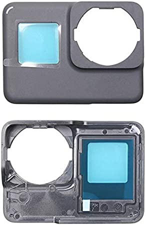 Color : Black JINGZ for GoPro HERO5 Front Cover Faceplate Frame Housing Repair Part Durable