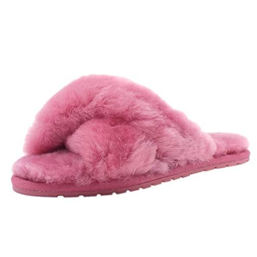 De Luxe Bubblegum Peau En Pantoufles Mouton Australienne Emu Mayberry Efx5q