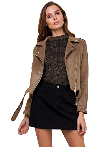 Brown Suede Jacket - 6
