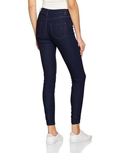Women's Look New Skinny Pattern Blue Blue Jeans O6xSwx