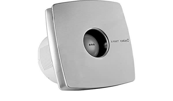CATA X-MART 12 INOX T Plata - Ventilador (Plata, Techo, Pared, De ...
