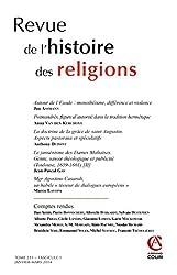Revue de l'histoire des religions Nº1-2014