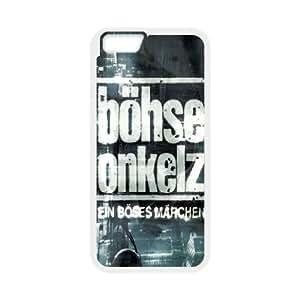 iPhone6 Plus 5.5 inch Phone Case White Bohse Onkelz ZGC409178