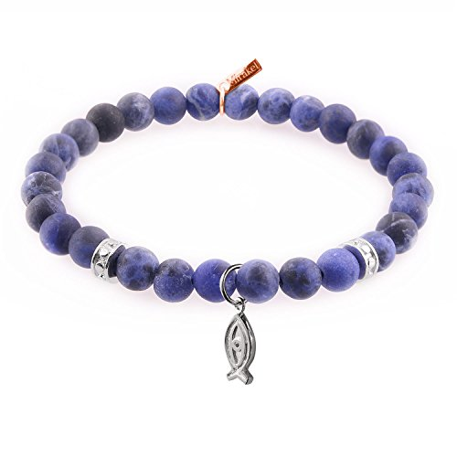 mirakel-atlantis-blue-sodalite-stone-bead-bracelet-for-men-women-with-silver-prosperity-fish-charm