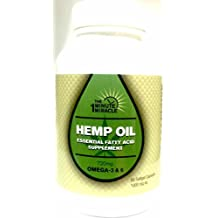 MIRACLE OIL ORGANIC EXTRACT HEMP 60 Softgel Capsules By The One Minute Miracle