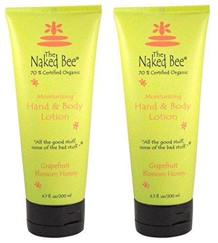 The Naked Bee Naked Bee Hand & Body Lotion 6.7 oz lotion (2 Pack) (Grapefruit Blossom Honey)