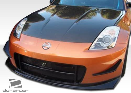 2 Piece Body Kit Compatible With 350Z 2003-2008 Brightt Duraflex ED-TZF-242 N-2 Front Bumper Cover
