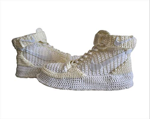 - Knitting Style Air Force 1 Mid '07 Men's Shoe, Super Cool Breathable Shoes, Knitted Home Athletic Sneakers For Men, Breathable Mesh Shoes
