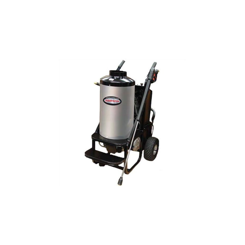 Simpson Mini Brute 1700 PSI Electric Hot Water Pressure Washer