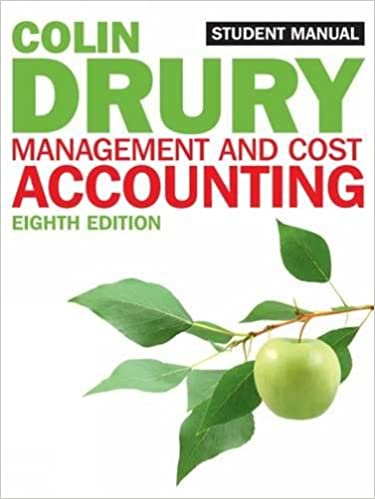 Management and cost accounting student manual students manual management and cost accounting student manual students manual amazon colin drury books fandeluxe Images