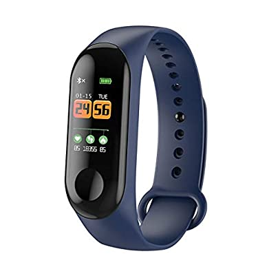 DMMDHR Color IPS Screen Smart Sport Fitness Bracelet Blood Pressure Activity Tracker Smart Wristband For Men Women Watches Estimated Price £52.40 -