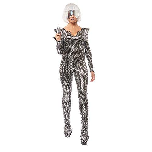 Womens Galaxy Girl Science Fiction Costume Size Medium 8-10 -