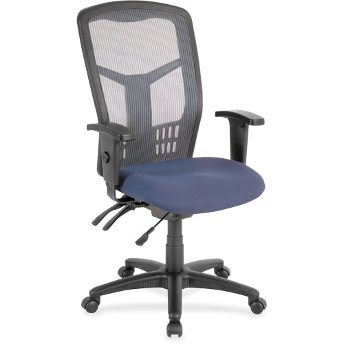 LLR86906 - Lorell Ergomesh Seating Exec Mesh High-Back Chair - Exec Office Chair