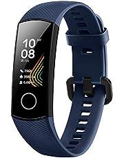 Honor Band 5 vattentät Bluetooth Fitness aktivitetsmätare med pulsmätare, AMOLED-färgdisplay, pekskärm
