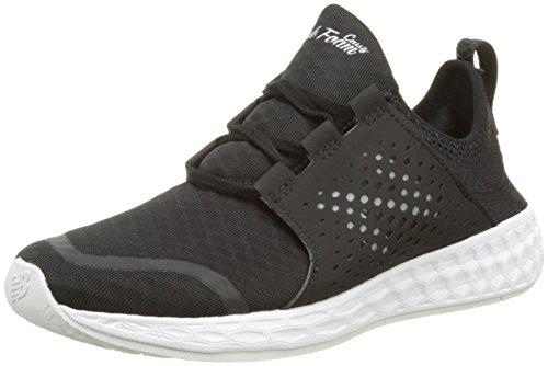 New Balance Wcruzv1, Zapatillas de Running para Mujer Negro (Black/white)