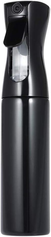 Image ofAnself Botella Frasco de Spray Pulverizador de Agua para Peluquería para Salón (300ml, negro)