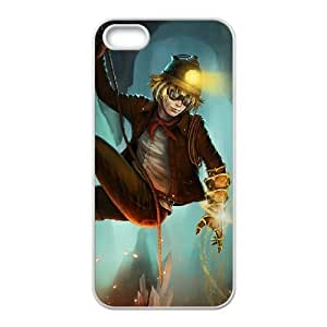 iPhone 5 5s Cell Phone Case White League of Legends Explorer Ezreal LOL-STYLE-0674