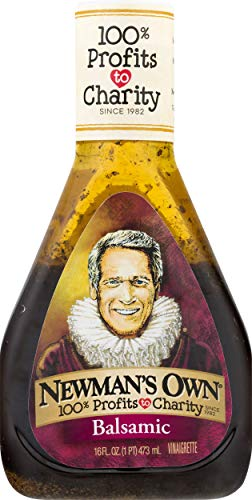 Newman's Own Balsamic Vinaigrette Salad Dressing, 16-oz.
